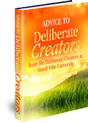 Advice to Deliberate Creators ebook cover