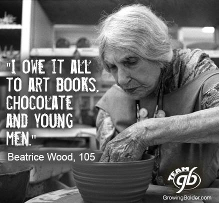 I owe it all to Art Brooks, chocolate, and young men.