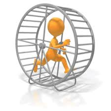 get off the hamster wheel