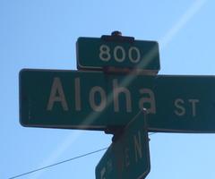 Aloha St