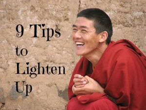 how to lighten up