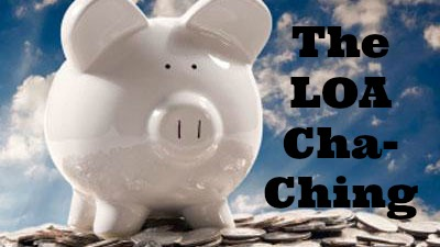 The LOA Cha-Ching: how to manifest a thousand dollars in ten days