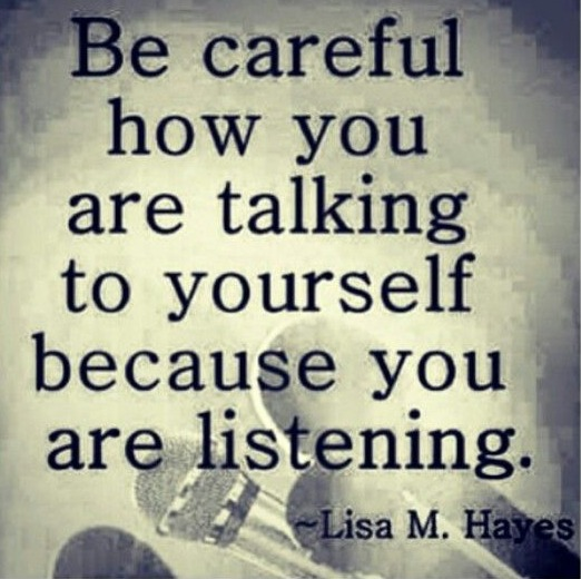 self talk by Lisa Hayes