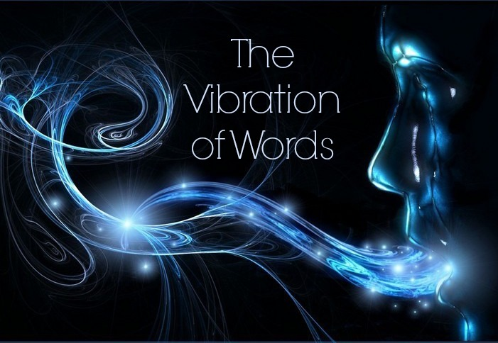vibration of words and names