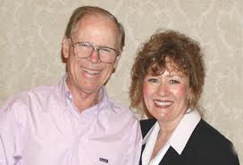 Jerry Hicks with wife Esther Hicks, channeller of Abraham