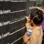 """before I die"" dream wall online"