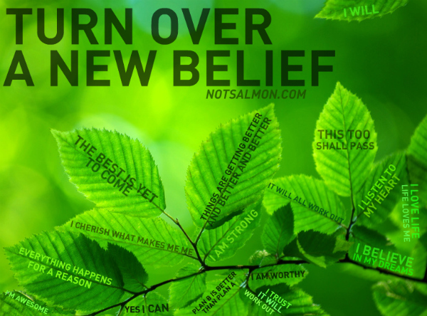 turn over a new belief