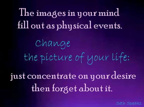 change the picture of your life