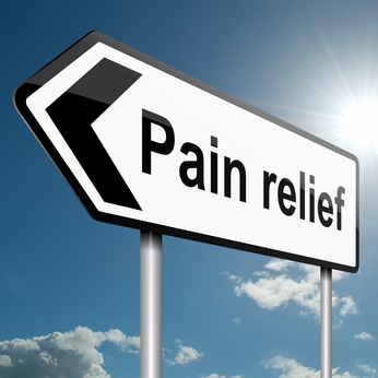 the law of attraction way to relieve pain