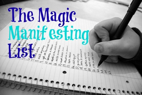 Manifesting with a Success List