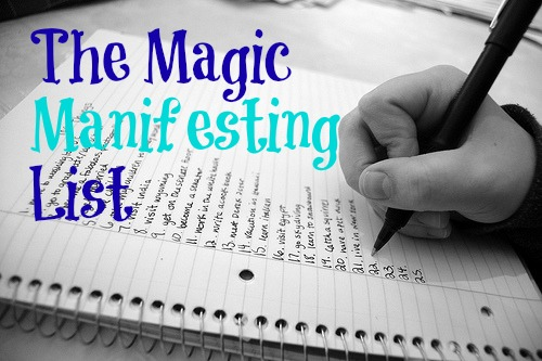 manifesting with a magic success list