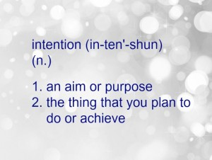 How to Set a New Year Intention