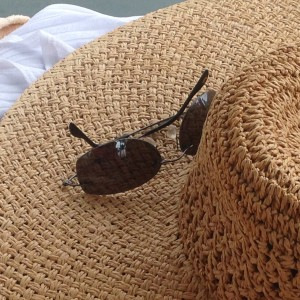 my new beach hat