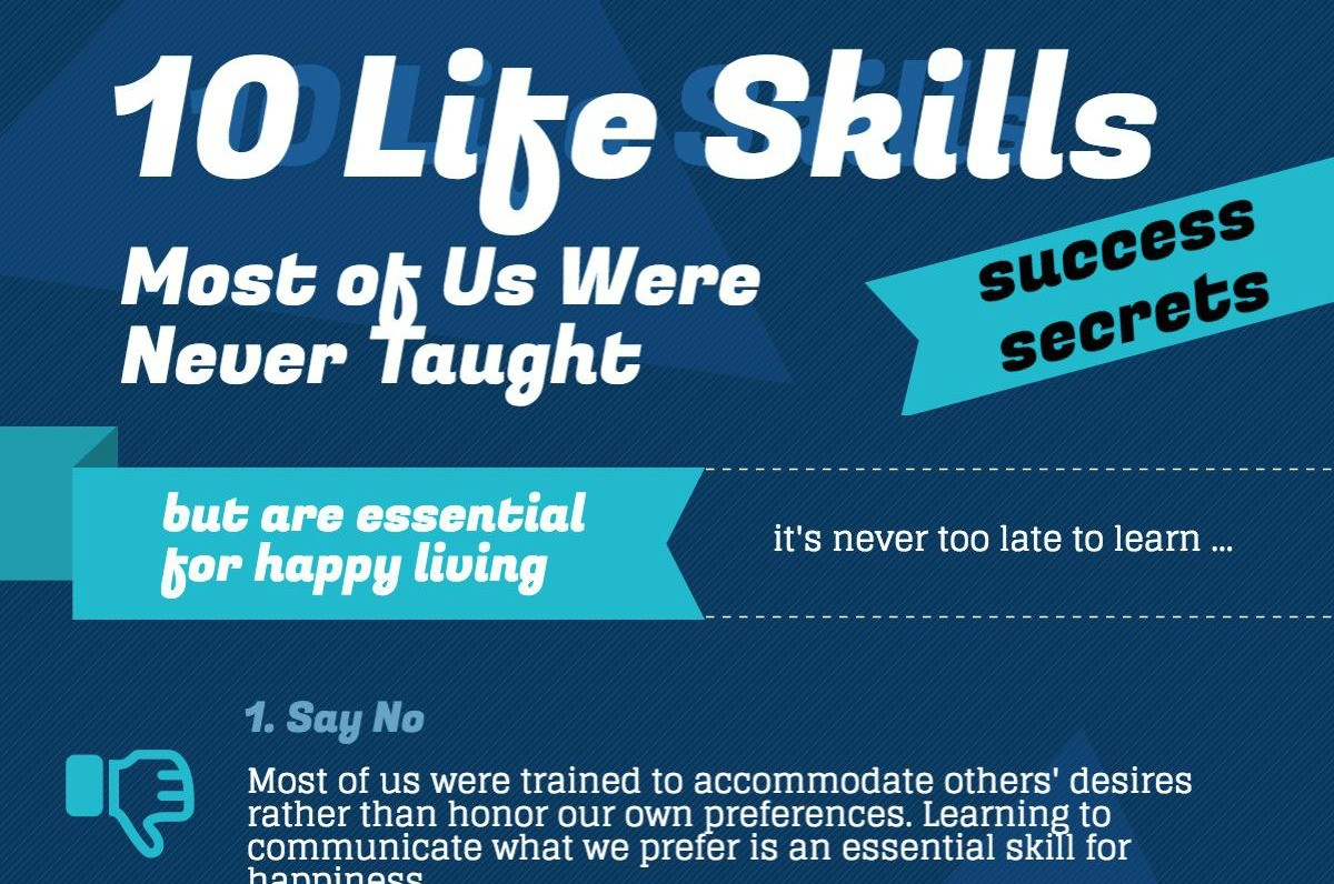 10 Life Skills Never Taught But Totally Essential