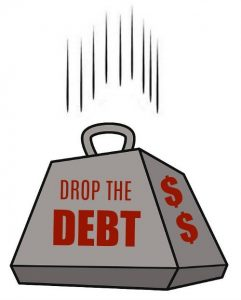 drop debt with law of attraction